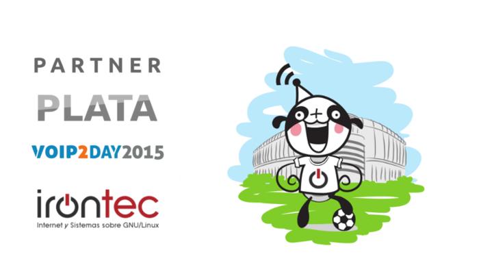 Imagen: Irontec estará en VoIP2DAY como patrocinador PLATA