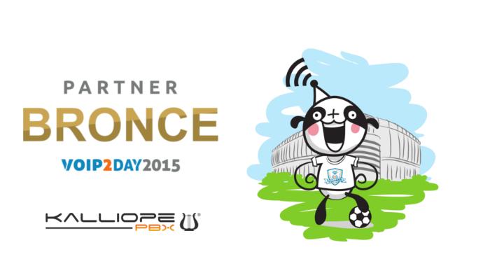 Imagen: Kalliope PBX se une a los patrocinadores de VoIP2DAY 2015 en la categoría BRONCE