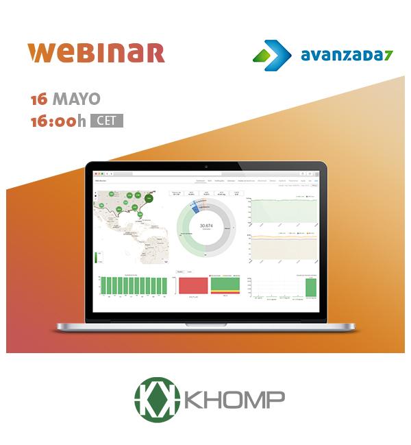 Imagen: Webinar Khomp: Inteligencia de negocios con KHOMP Insight! | Jueves 16 Mayo