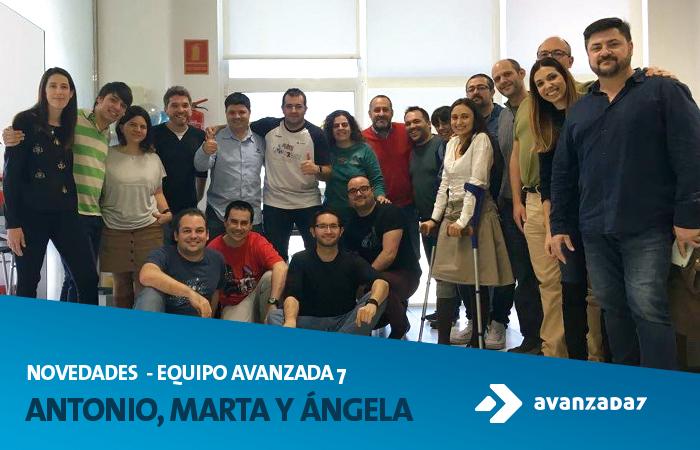 Imagen: Novedades Equipo Avanzada 7