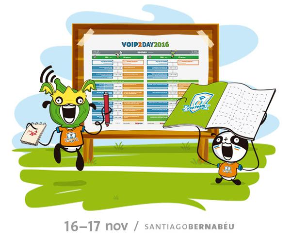 Imagen: Los sponsors de VoIP2DAY te reclaman...¡para pasarlo en grande!