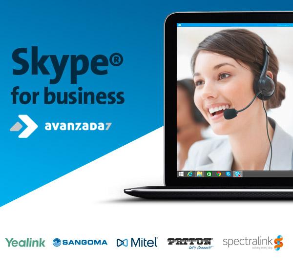 Imagen: Te ofrecemos el soporte que necesitas en Skype for Business