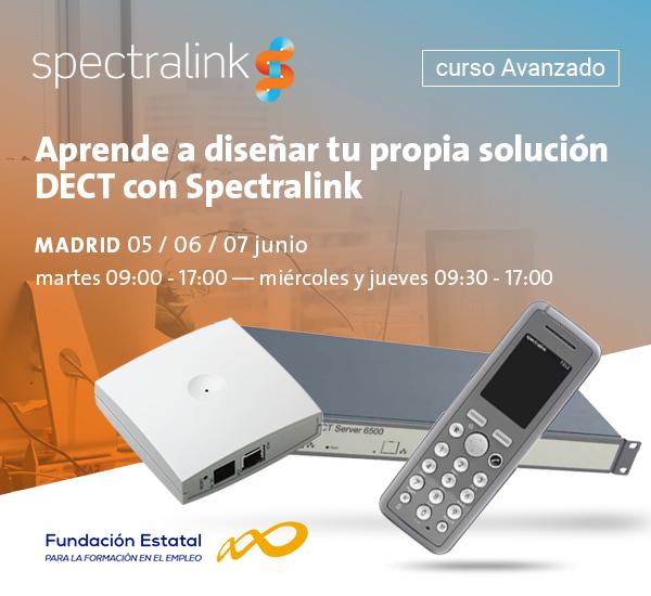 Imagen: Curso Avanzado Solutiones DECT Spectralink | 5-7 Junio, Madrid