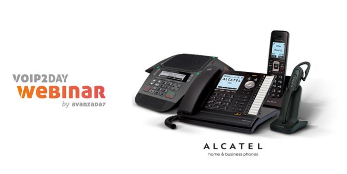 Imagen: VoIP2DAY WEBINAR: Alcatel