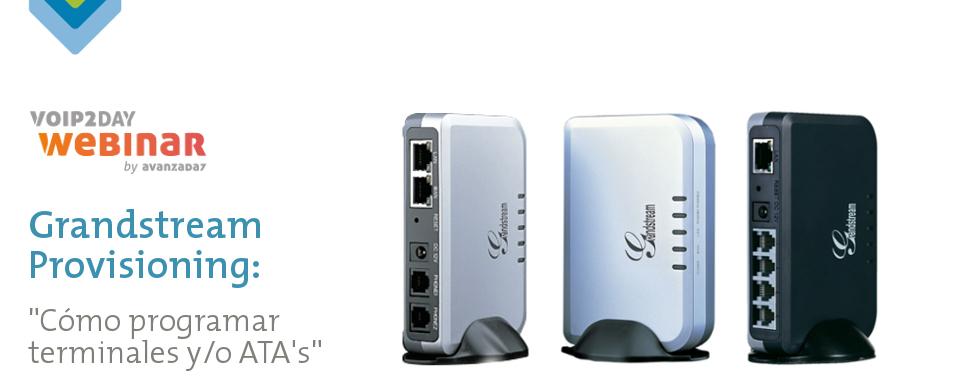 Imagen: VoIP2DAY Webinar: Grandstream Provisioning