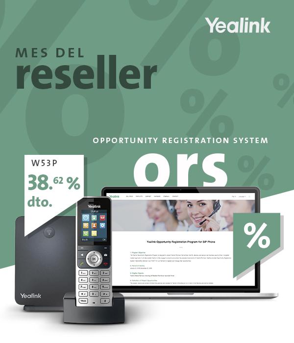 Imagen: Promociones Yealink para clientes resellers