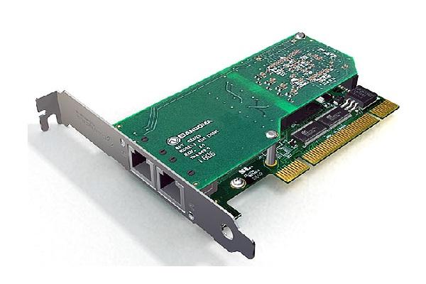 Imagen 1: Tarjeta Sangoma A102 (2E1 PCI)