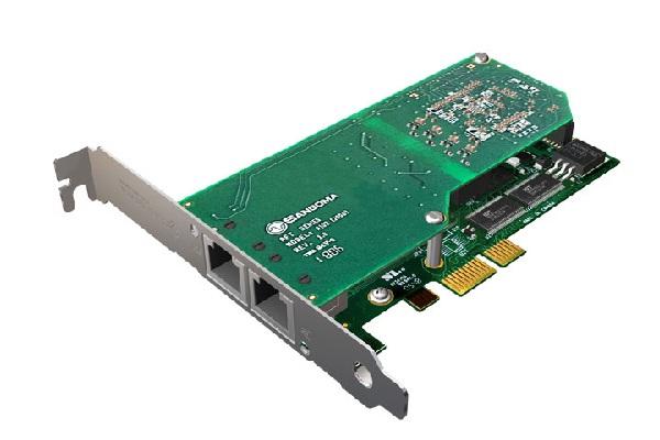 Imagen 1: Tarjeta Sangoma A102E (2E1 PCI Express)