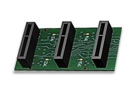 Imagen 1: Backplane Sangoma A200 3 conectores (A200BP3)