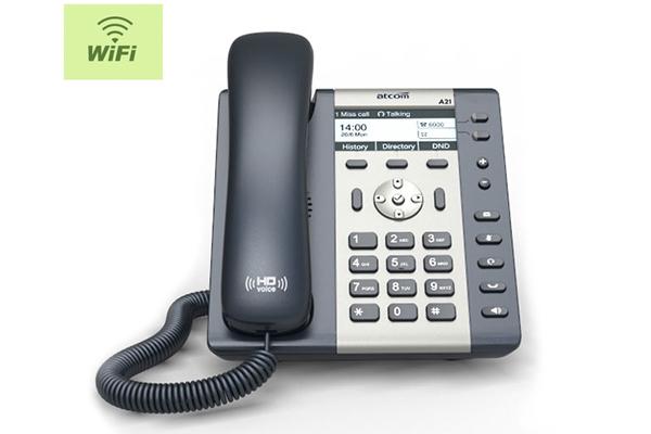Teléfono IP Sobremesa ATCOM A20W con dos cuentas SIP