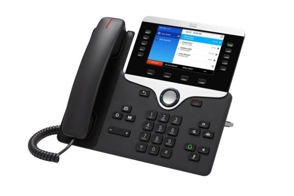 Teléfono IP de Cisco 8841 con 5 teclas de línea programables y pantalla a color de 800x400px ya disponible en Avanzada 7