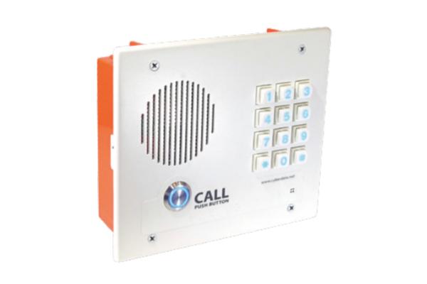 Intercomunicador Cyberdata VoIP Intercom con teclado y de montaje empotrado ya disponible en Avanzada 7