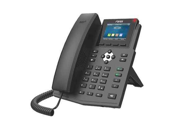 Teléfono X3SG con 4 SIP y pantalla de 2.8 pulgadas disponible en la tienda online de Avanzada 7
