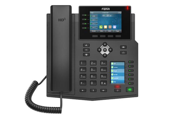 Imagen 1: Fanvil terminal IP X5U PoE (sin fuente)