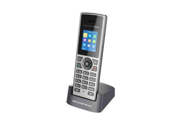 Teléfono DECT Grandstream DP722 compatible con las estaciones base DP750 y DP752 de Grandstream disponible en Avanzada 7