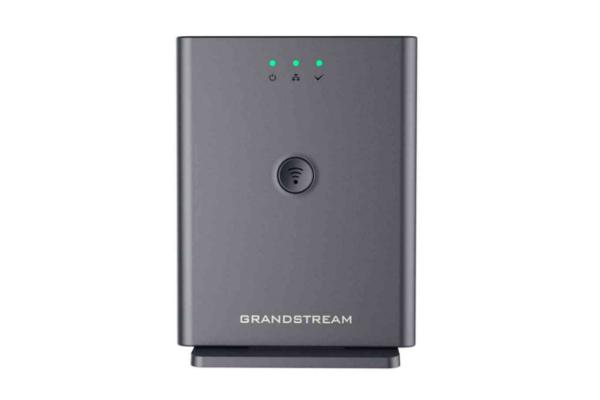 Estación base VoIP DECT de Grandstream DP752 que puede enlazarse con hasta 5 teléfonos DECT de Grandstream disponible en Avanzada 7