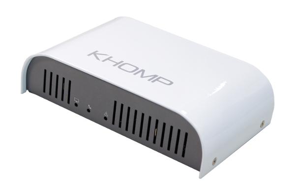 Gateway Khomp UMG100 con un puerto de red de 10/100/1000Mbps y con 1 E1 de hasta 30 canales con conector RJ