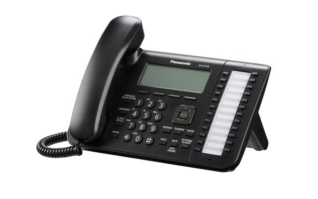 Panasonic kx ut136 sip avanzada7 for La oficina telefono