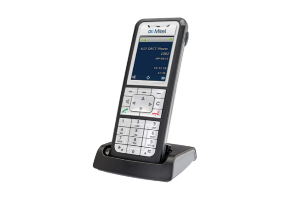 Teléfono inalámbrico de Mitel con pantalla a color de 2 pulgadas ideal para empresas ya disponible en Avanzada 7