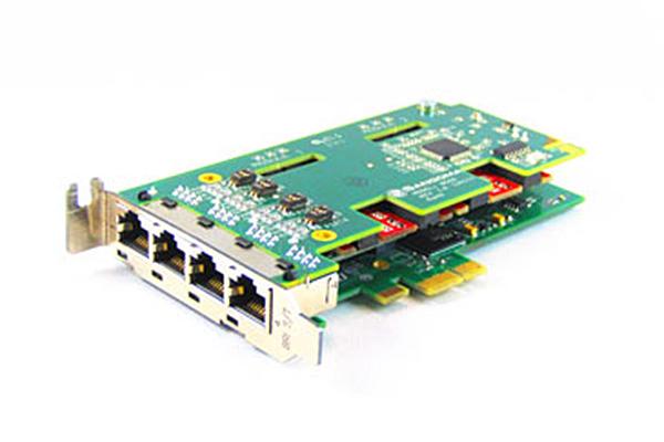 Imagen 1: Tarjeta Sangoma B502DE (4 BRI - PCIe + E.C.)