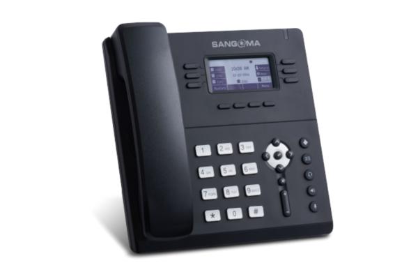 Teléfono Sangoma S406 con 3 cuentas SIP y con nueva CPU interna más rápida ya disponible en Avanzada 7