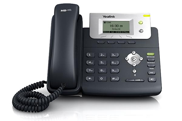 Teléfono IP Yealink T21P ideal para pequeñas empresas
