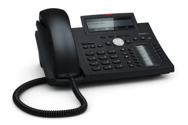 Teléfono VoIP Snom D345 con 12 identidades SIP y Gigabit