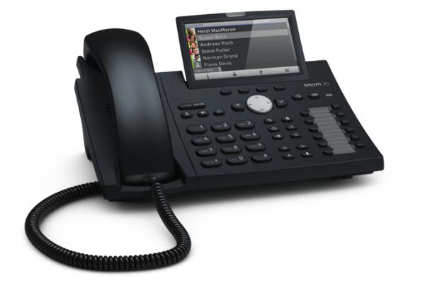 Teléfono VoIP Snom D375 con pantalla a color