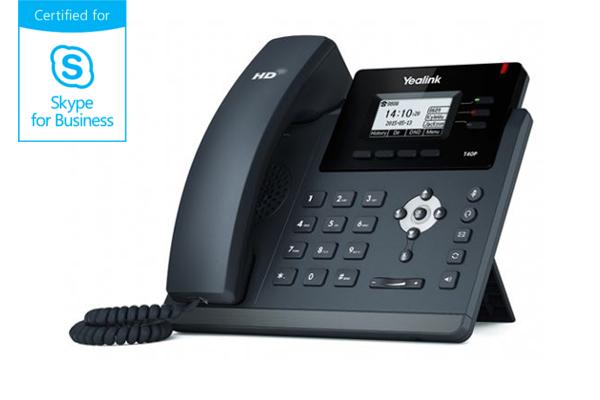 Teléfono VoIP Yealink T40P con pantalla LCD