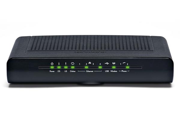 Imagen 1: Cable modem Technicolor TC7200.20 WiFi