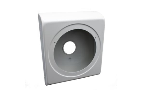 Imagen 1: Wall-mount adapter for Cyberdata speaker (signal white)- 011152