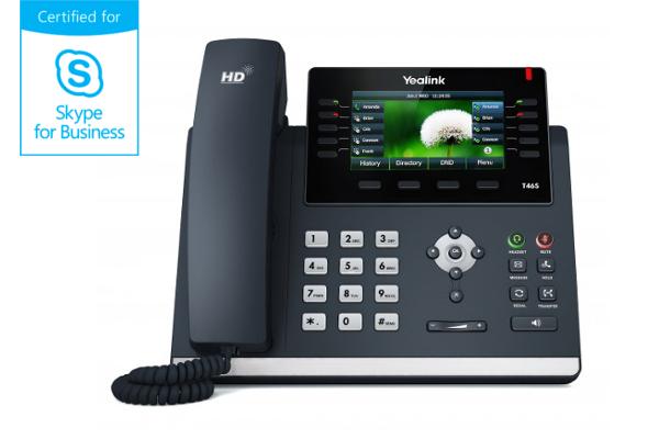 Teléfono IP Yealink T46S con codec OPUS y pantalla a color ya disponible en Avanzada 7