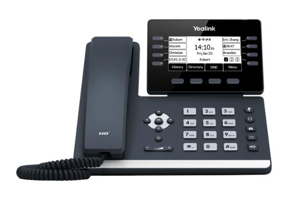 Teléfono de sobremesa Yealink T53 compatible con módulo de expansión EXP50 ya disponible en Avanzada 7