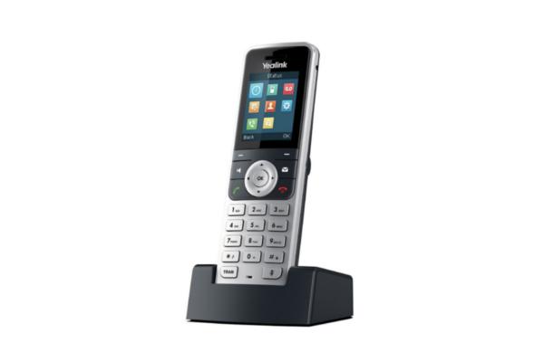 Handset Yealink W53H con hasta 2 llamadas simultáneas ideal para el sistema VoIP W53P de Yealink ya disponible en Avanzada 7