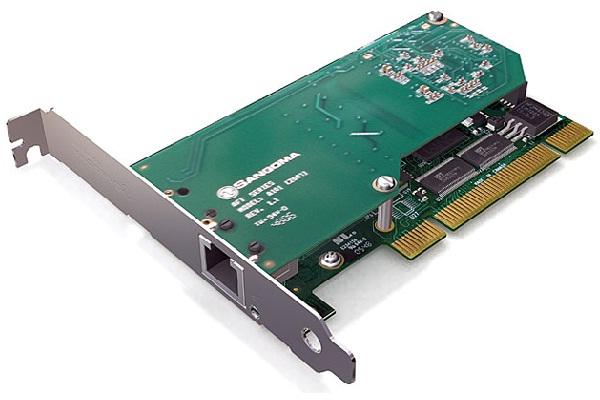 Imagen 2: Tarjeta Sangoma A101D (1E1 PCI + Echo Cancel)