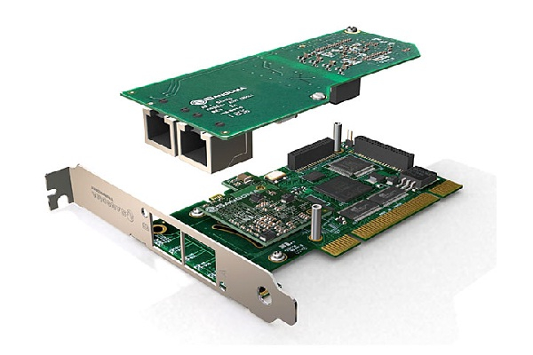 Imagen 2: Tarjeta Sangoma A102 (2E1 PCI)