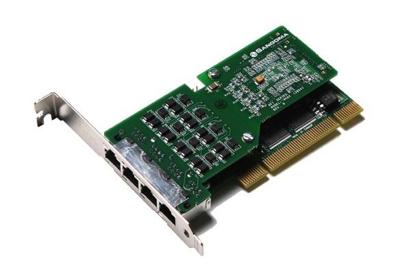 Imagen 2: Tarjeta Sangoma A104D (4E1 PCI Echo Cancel)