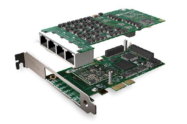 Imagen 2: Tarjeta Sangoma A108DE (8E1 PCI Express Echo Cancel)