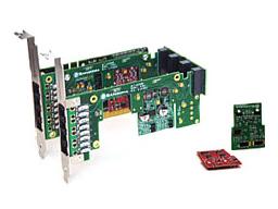 Imagen 2: Backplane Sangoma A200 3 conectores (A200BP3)