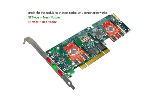 Imagen 2: Tarjeta Sangoma A500 Base+rémora PCI-e + E.C.