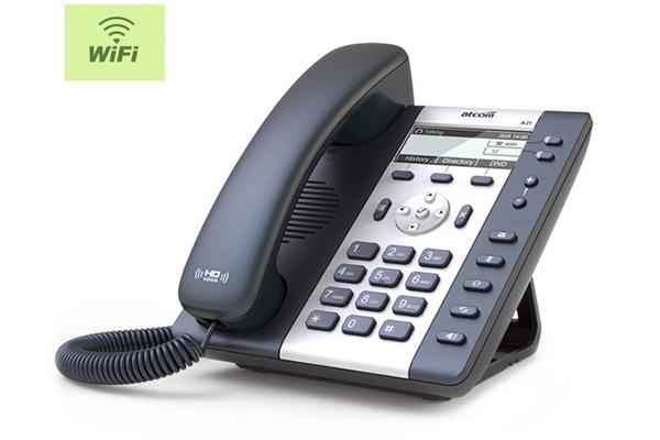 Teléfono IP Sobremesa ATCOM A20W con conexión Wifi