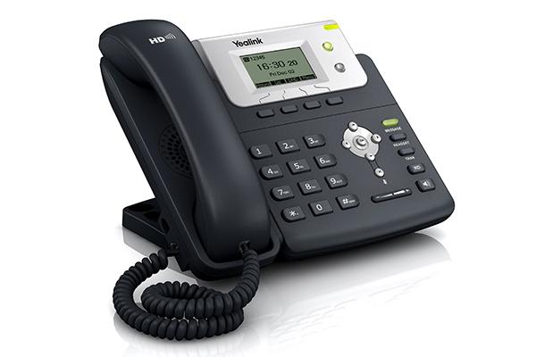 Teléfono IP Yealink T21P con dos cuentas SIP