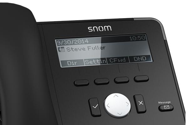 Teléfono IP de sobremesa Snom D710