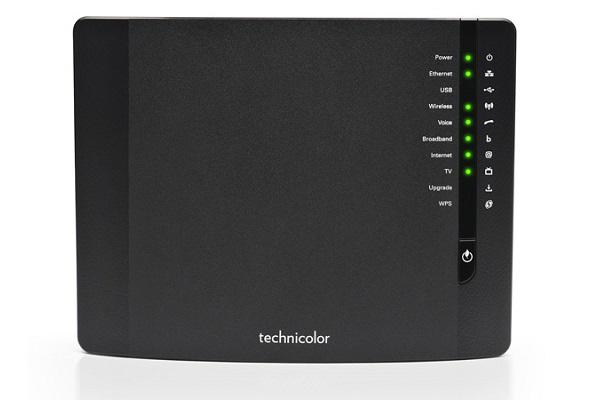 Imagen 2: Gateway Technicolor triple-play TG789vn V3