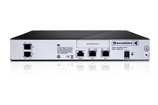 Imagen 2: Gateway Vega 200G 2 PRI + 60 VoIP calls