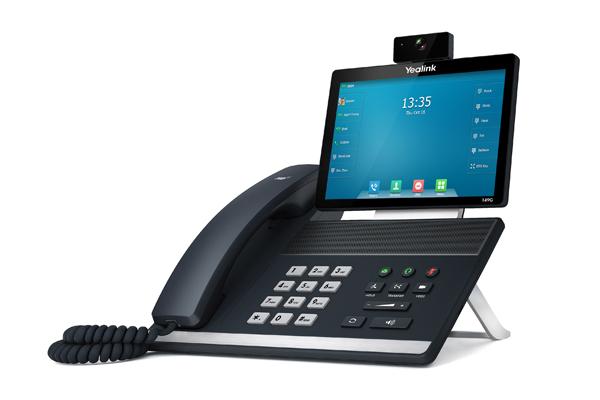 Videoteléfono T49G de Yealink con Bluetooth 4.0 incorporado