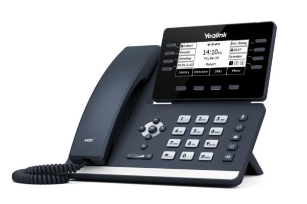 Teléfono de sobremesa Yealink T53 con conectividad Bluetooth via BT40 y WiFi via WF40 / WF50 ya disponible en Avanzada 7