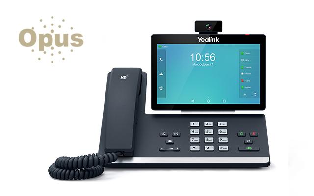 Teléfono IP Yealink T58V de pantalla táctil con soporte Android y con opción de videoconferencia a 3 vías y conferencia de audio a 5 vías