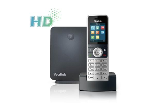 Teléfono DECT Yealink W53P con pantalla a color TFT y con posibilidad de conectar hasta 8 terminales W53H