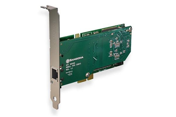 Imagen 3: Tarjeta Sangoma A101E (1E1 PCI Express)